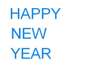 Happy New Year from all of us