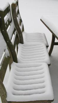 Snow Seat by Maria Joy