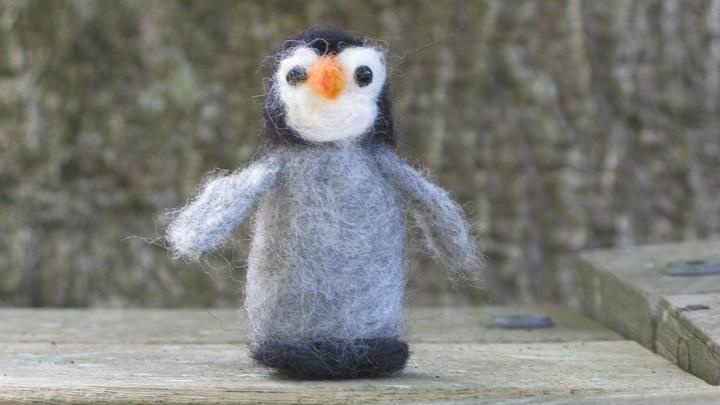Arctic Penguin Chick - m.joy