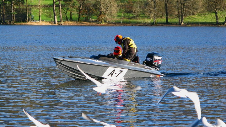 Coniston Power Boat Records Week - m.joy