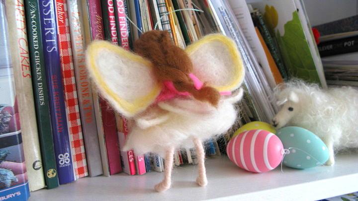 Shy angel - handmade by m.joy