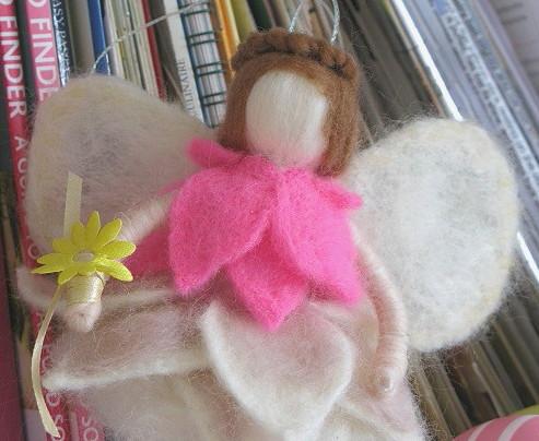 Faceless angel - handmade by m.joy