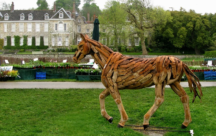 Firle Place and Horse from Bali - m.joy