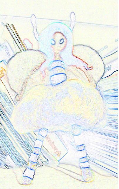 Bee Girl Sketch - m.joy