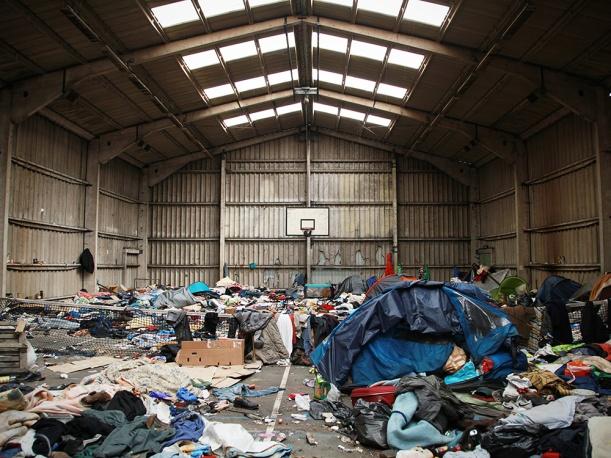 les jungles à Calais - http://www.lemonde.fr