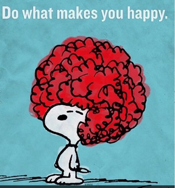 Do what makes you happy - Snoopy by Schulz