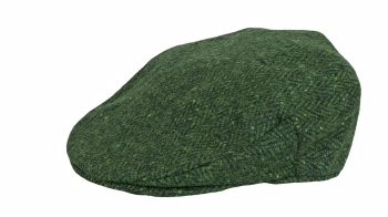 Olive Tweed Flat Cap made in Ireland available from Honey Beeswax Store