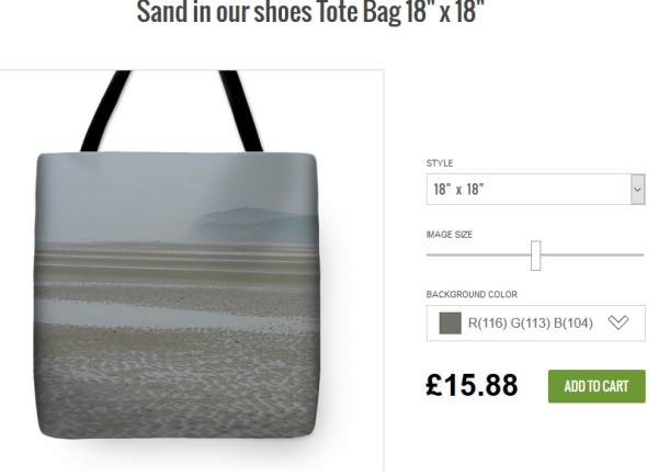 'Sand in Our Shoes' - Tote Bag - m.joy