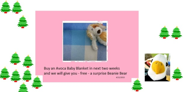Lambswool Baby Blankets from County Wicklow