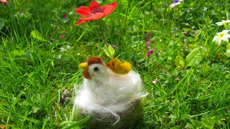Snowball Chicken and Cheep Cheep - m.joy