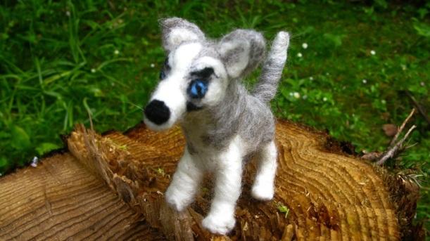 First attempt Husky Puppy - m.joy