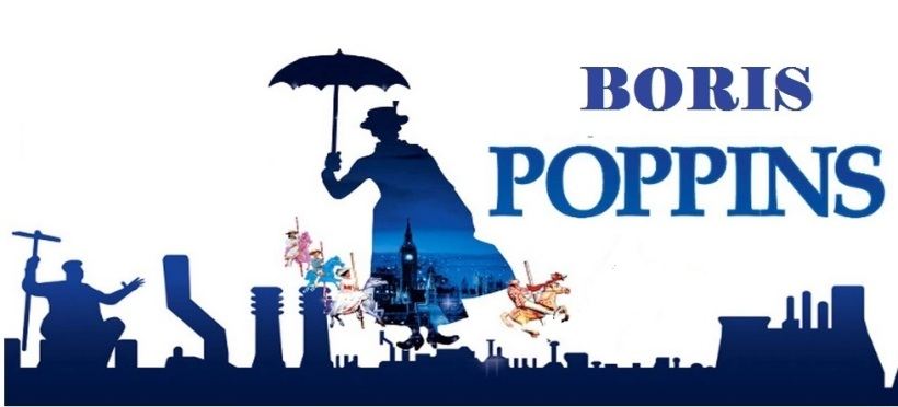 Borris Poppins - 'In every job that must be done - there is an element of fun'