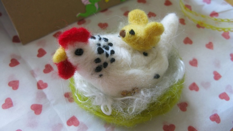 Mrs O'Leary and Cheep Cheep - m.joy