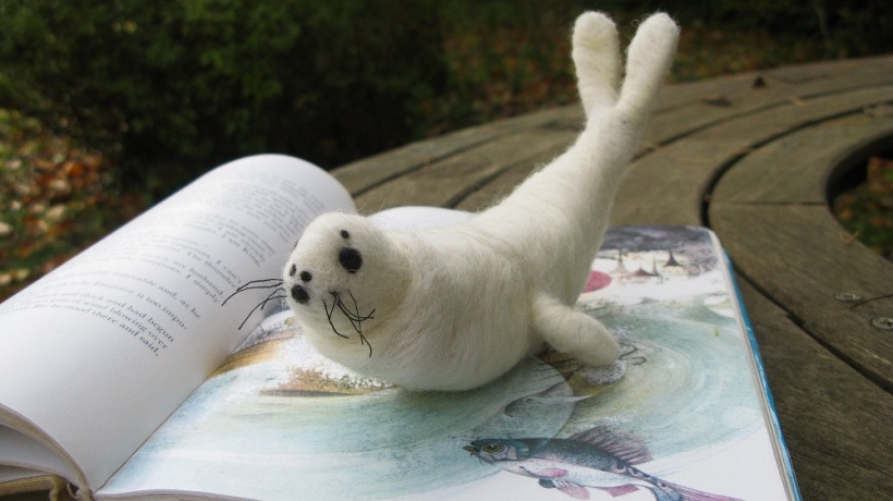 Baby Seal Sculpture - m.joy