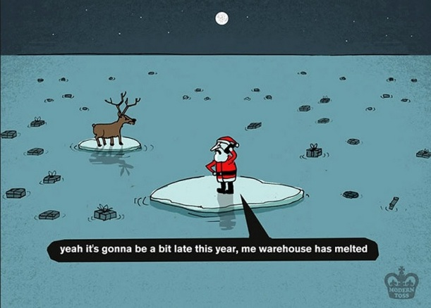 Save the Arctic by Modern Toss