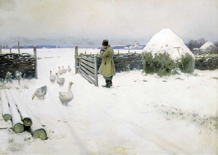 Snow - Mikhail Marianovich Germashev (1897)