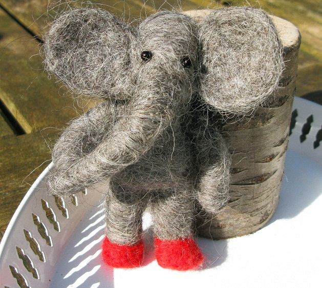Small Woolly Elephant Prototype - m.joy