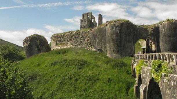 Corfe Castle - m.joy