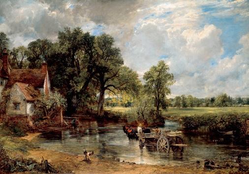 The Hay Wain - John Constable - 1823